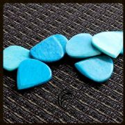 Jazzy Tones - Turquoise Bone - 4 Picks | Timber Tones